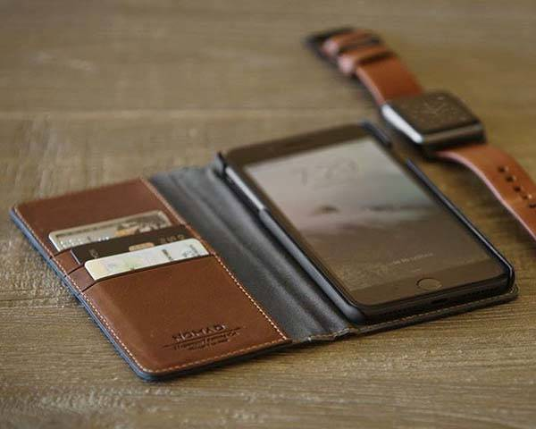 Nomad Leather Folio iPhone 7/7 Plus Wallet