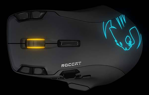 Roccat Leadr Wireless Gaming Mouse with Zero Lag