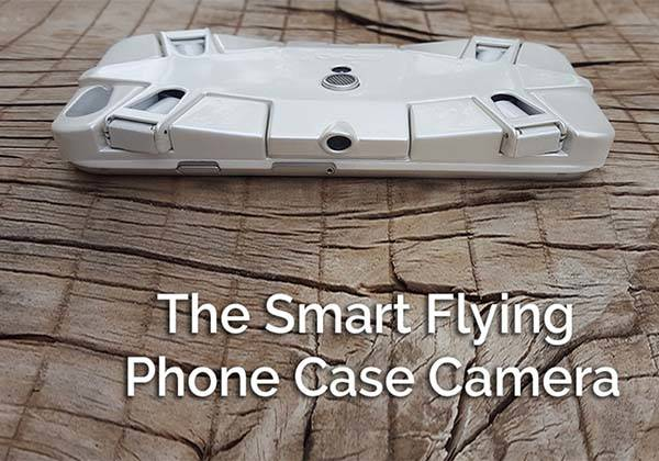 Selfly Smartphone Case with Camera Drone