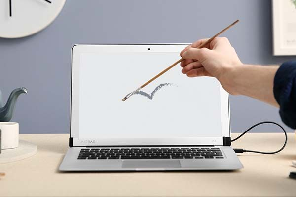 The AirBar Adds Touchscreen Features to MacBook Air