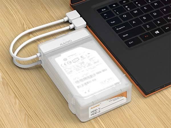 Dual USB 3.0 HDD Enclosure