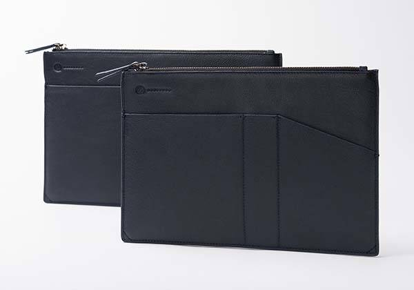 The iPad Pro Leather Case with Two Pockets and Apple Pencil Holder