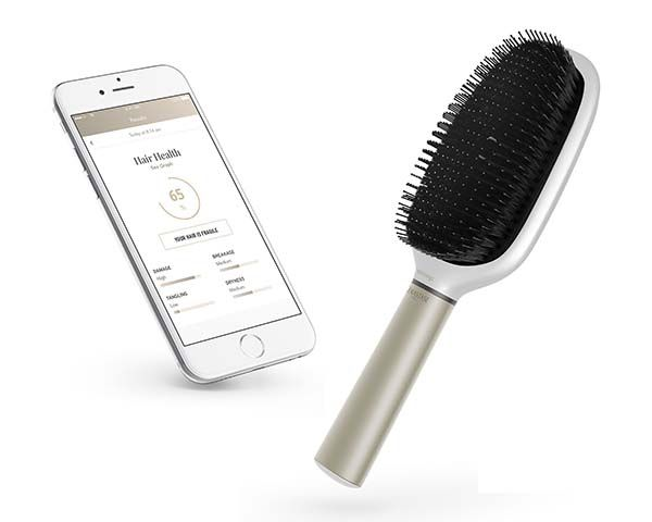 Withings Hair Coach Smart Hairbrush