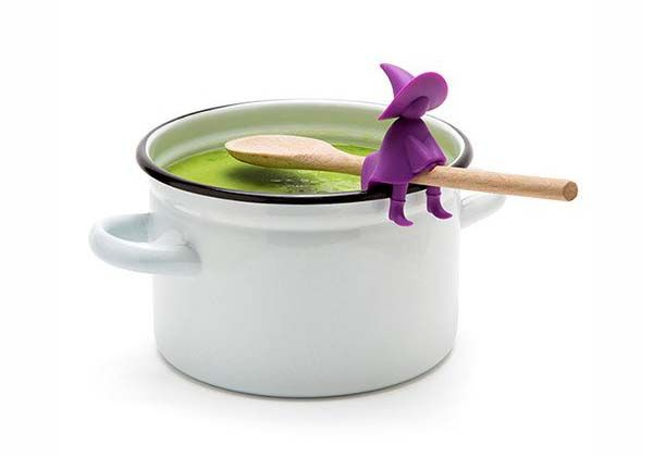 Agatha Witch Spoon Holder and Steam Releaser