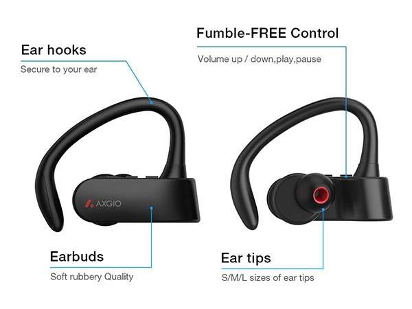 Axgio Dash Bluetooth Earbuds