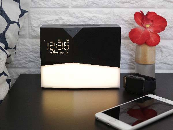 BEDDI Glow Intelligent Alarm Clock with Bluetooth Speaker and Wake Up Light