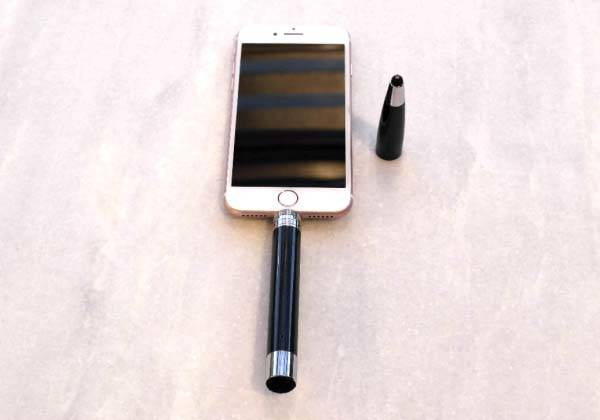 The Ballpoint Pen with Power Bank, Stylus, Screen Cleaner and USB Drive