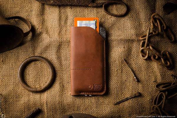 CrazyHorse Handmade iPhone 7/7 Plus Leather Case
