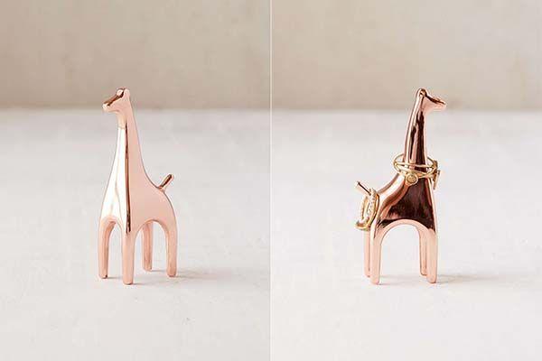 Critter Metal Ring Holder - Giraffe