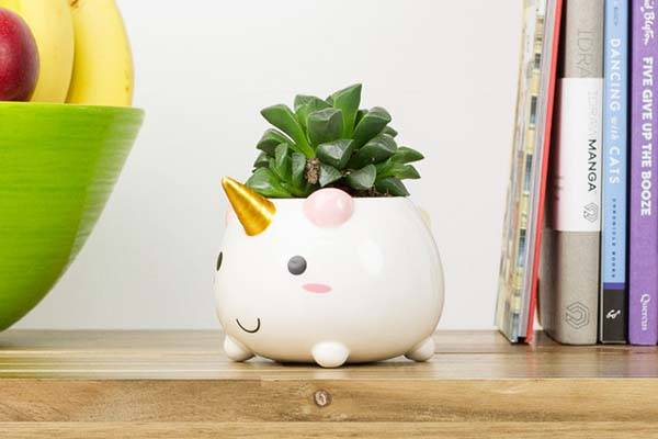 Unicorn Mini Planter