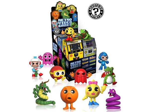 Funko Mystery Minis Retro Video Game Mini Figures