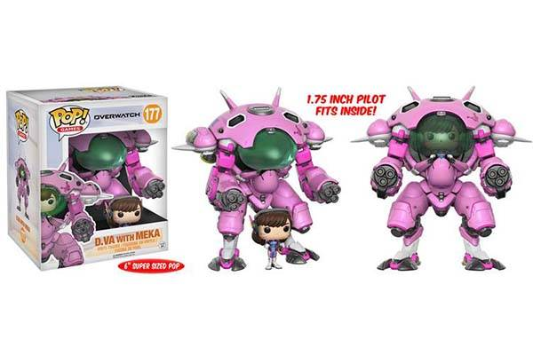 Funko Pop Overwatch Mini Figure - D.Va