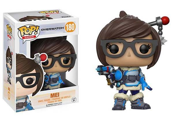 Funko Pop Overwatch Mini Figure - Mei