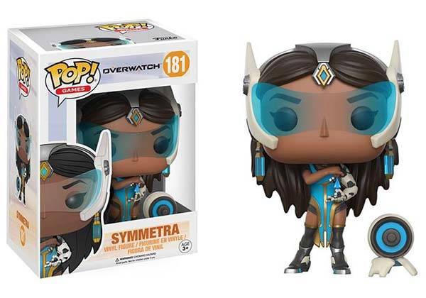 Funko Pop Overwatch Mini Figure - Symmetra