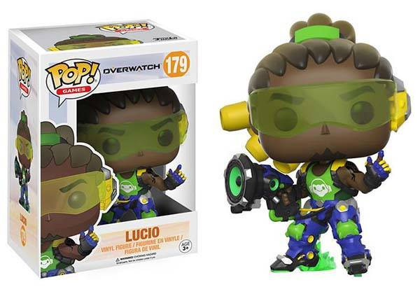 Funko Pop Overwatch Mini Figure - Lucio