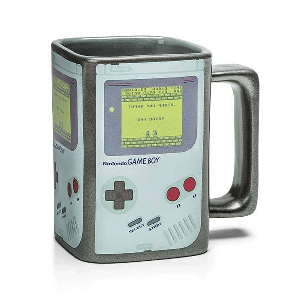 Game Boy Heat Changing Coffee Mug