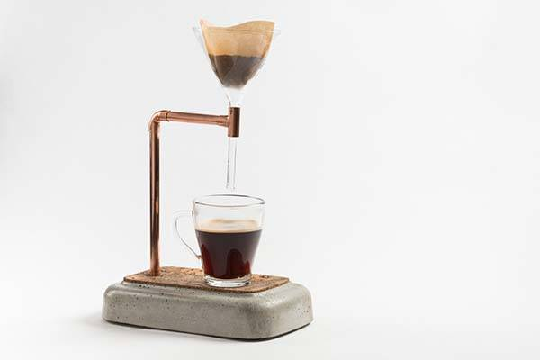 Handmade Concrete Coffee Maker Gadgetsin