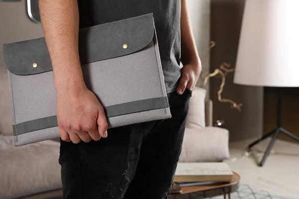 Handmade Wool Felt MacBook Pro Case