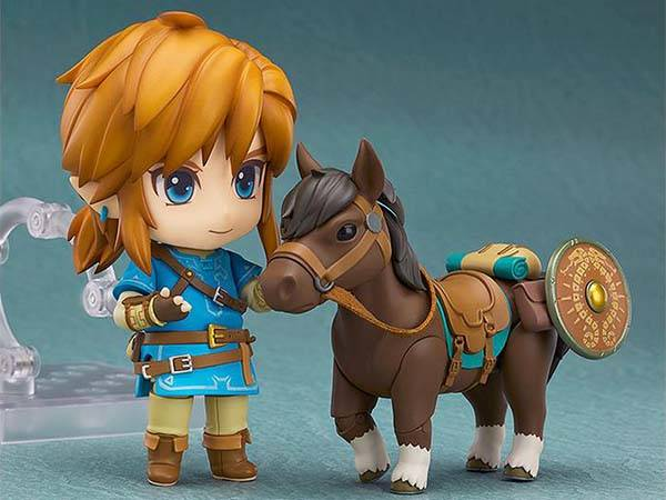 Legend of Zelda Breath of the Wild Nendoroid Link Action Figure