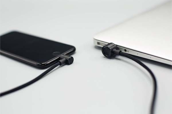 Magbine Magnetic Charging Cable for Lightning and MicroUSB Devices
