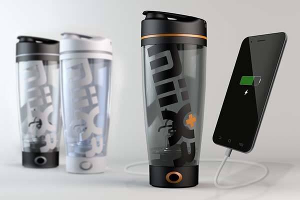 Miixr Portable Vortex Mixer With Power Bank Gadgetsin