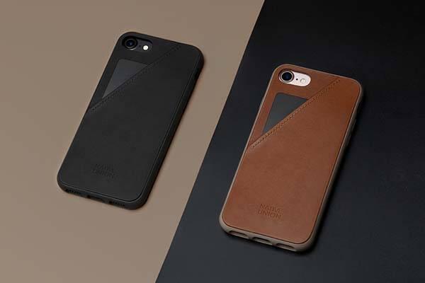 Native Union Clic Card Leather iPhone 7/7 Plus Case