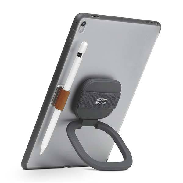 Native Union Gripster iPad Pro Case with Stand and Apple Pencil Holder