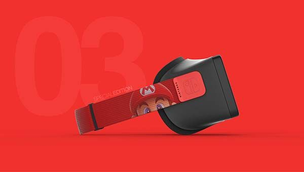 The Vr Headset Is Designed For Nintendo Switch Gadgetsin