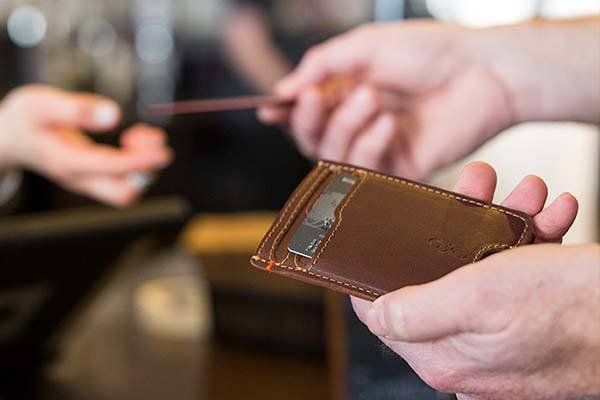 The Slim Front Pocket Leather Wallet