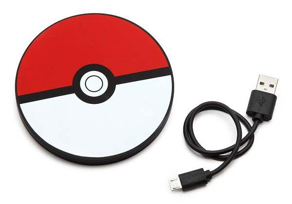 Pokémon Pokeball Disc Power Bank