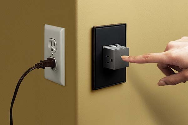 Pop-Out Wall Outlet