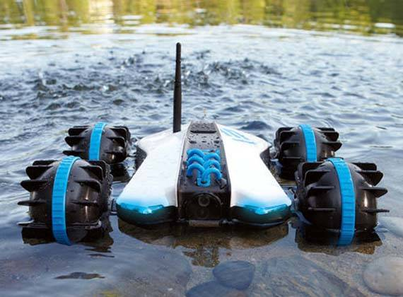 Rover Land & Sea Amphibious App-Controlled Vehicle