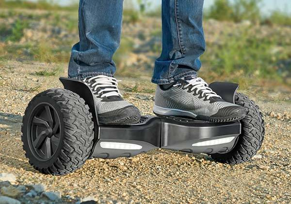 The App-Enabled All Terrain Electric Hoverboard
