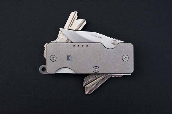 Q 2.0 and Shorty Titanium Key Organizers
