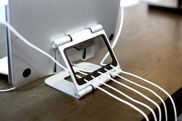 The Ridge Stand Pro+ Aluminum Holder for Laptops, Tablets and Smartphones