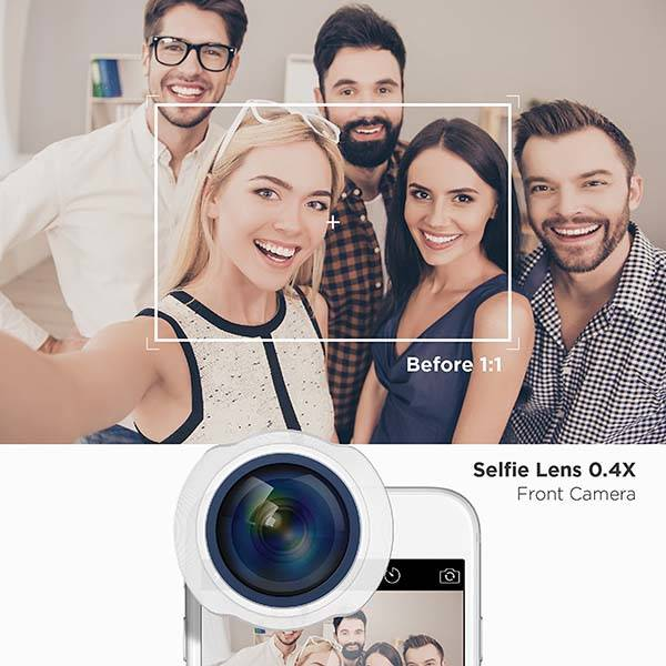 Elago Selfie Lens with 140-Degree Wide Angle