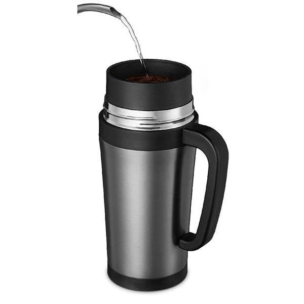 Coffee Maker That Fits Travel Mug : The Travel Mug with Built-in Pour Over Coffee Maker free download