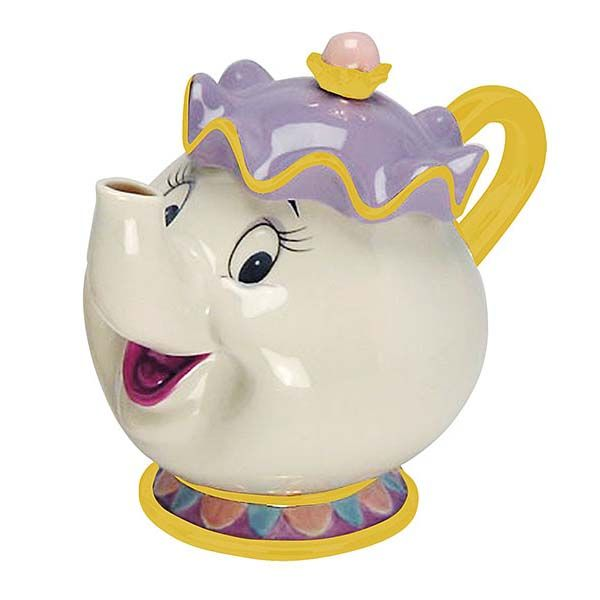 Beauty and the Beast Mrs Potts Ceramic Teapot