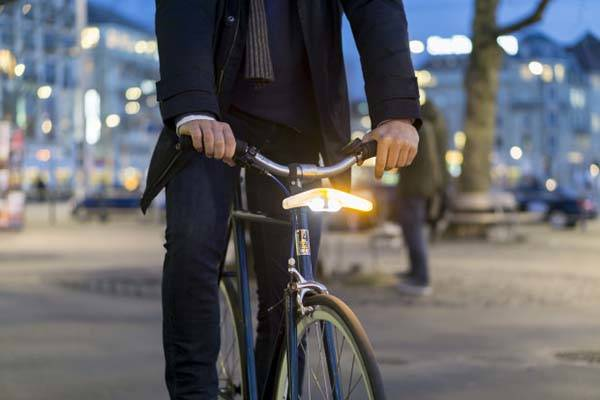 Blinkers LED Bike Light with Turning Indicators