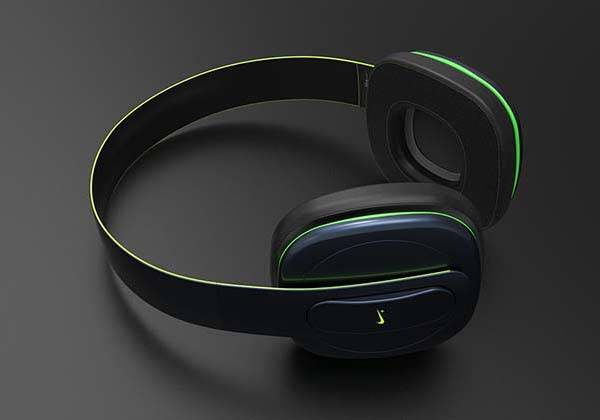 Concept Nike Physical+ Wireless Headphones with Fitness Tracker