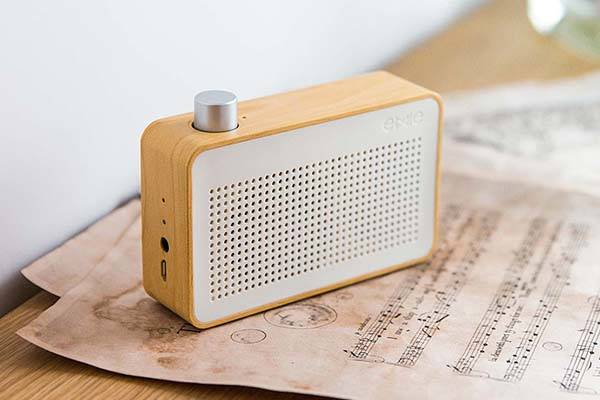 Emie Radio Vintage Portable Bluetooth Speaker