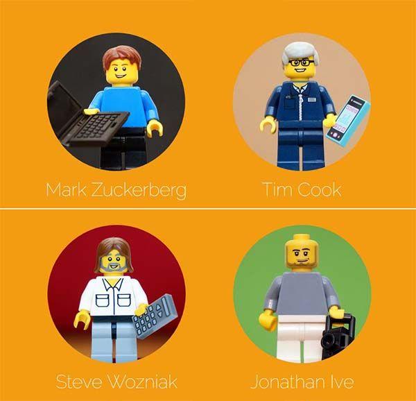 FamousBrick Tech-idol LEGO Minifigures