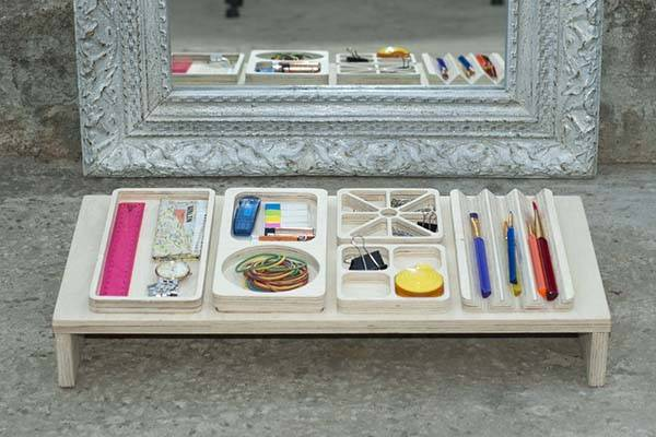 Handmade Customizable Desk Organizer