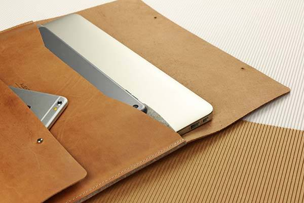 Handmade Elegant Leather MacBook Pro Case