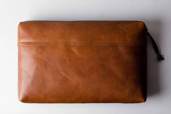 Hard Graft Deep Folio Classic MacBook Pro Leather Carrying Case