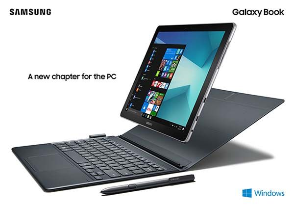 Samsung Galaxy Book Windows 10 Tablets