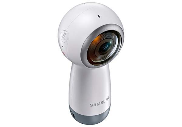 Samsung Gear 360 Mini Camera with 4K Video Recording