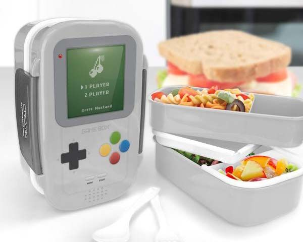 Game Box Gameboy Inspired Lunchbox
