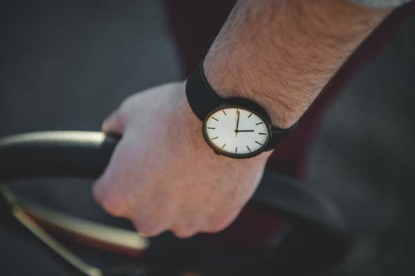 The Minimal Wrist Watch