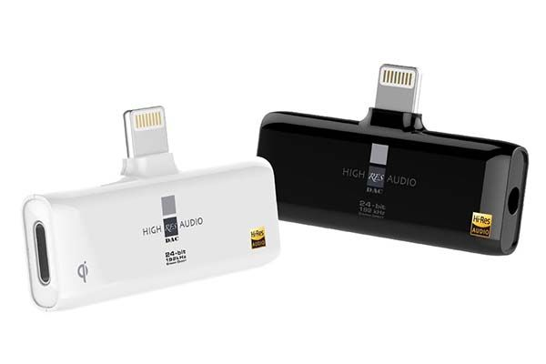 The RES External Digital-to-analog Converter with Lightning Port and Wireless Charging